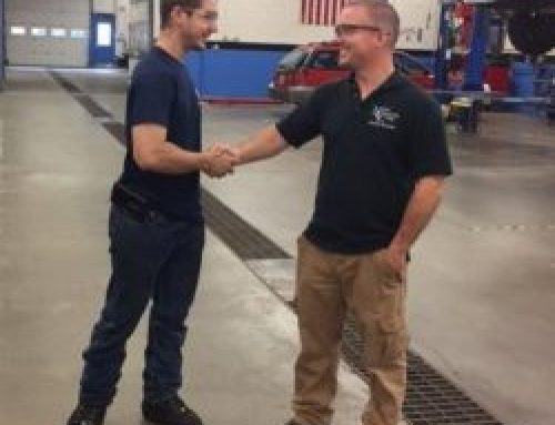 Automotive Education Scholarship Awarded