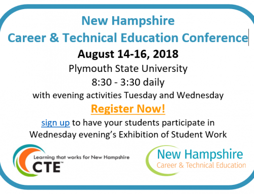 Register now for the 2018 NH CTE Conference!
