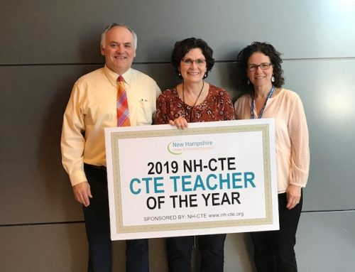 NH-CTE Recognizes the 2019 Teacher of the Year