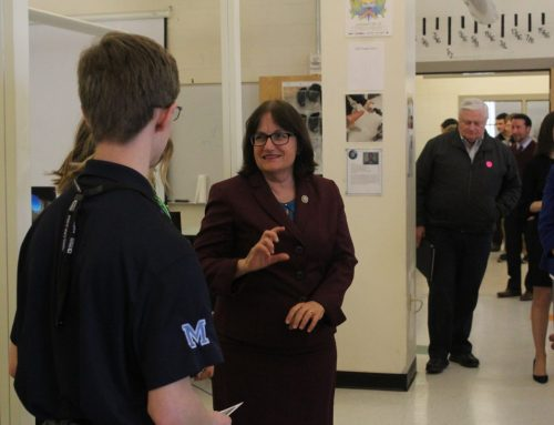 Getting Technical: Congresswoman visits Milford High School's Applied Technology Center