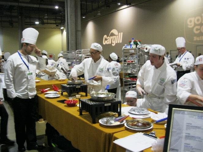 Concord Culinary Students Make the Cut