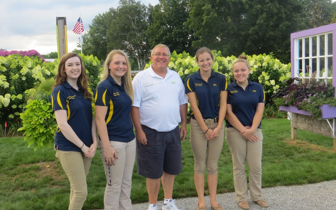 FFA State Officers Visit New Commercial Facility