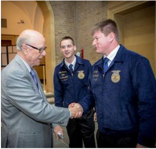 Congress Tells FFA:  Our Country Needs More People Like You