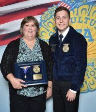 FFA Honorary American Degree Awarded