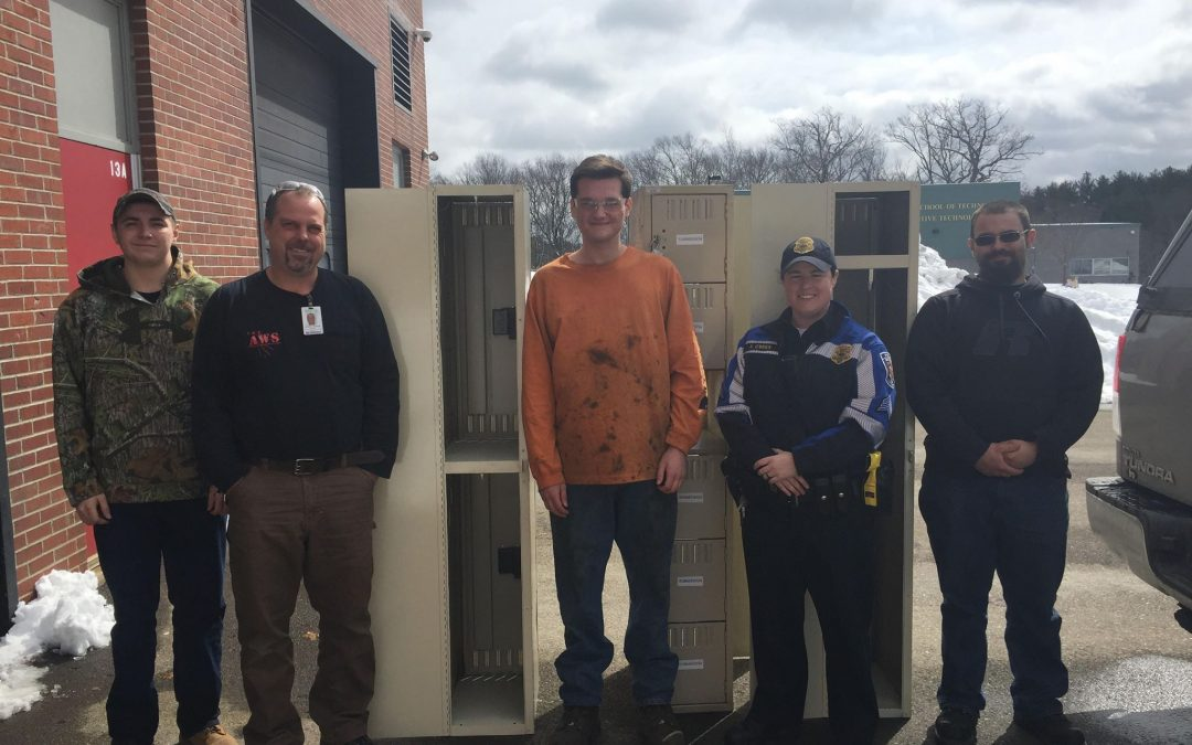 Seacoast School of Technology Welding Students Help Out Police Department