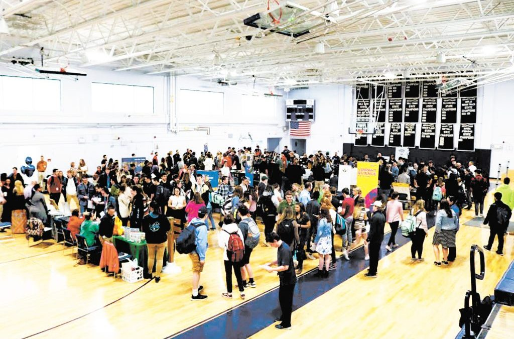Milford High School holds Job and Internship Fair for students